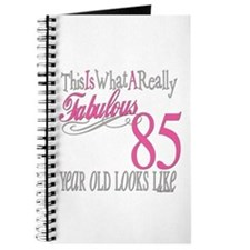 85th Birthday Gifts Journal