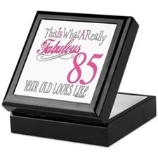 85th Birthday Gifts Keepsake Box
