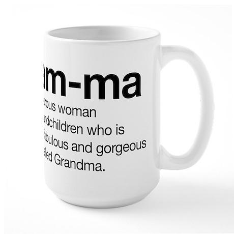 Glam-ma Large Mug