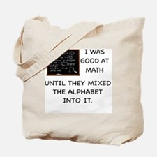 Cool Alphabet Tote Bag