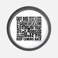 slogan-shirt.png Wall Clock