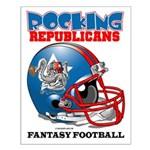 Fantasy Football - Republicans Small Poster