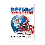 Fantasy Football - Republicans Mini Poster Print