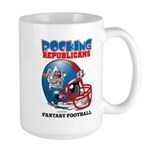 Fantasy Football - Republicans Large Mug