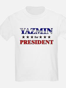 YAZMIN for president T-Shirt
