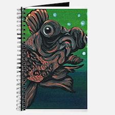 Black Moor Gold Fish Journal