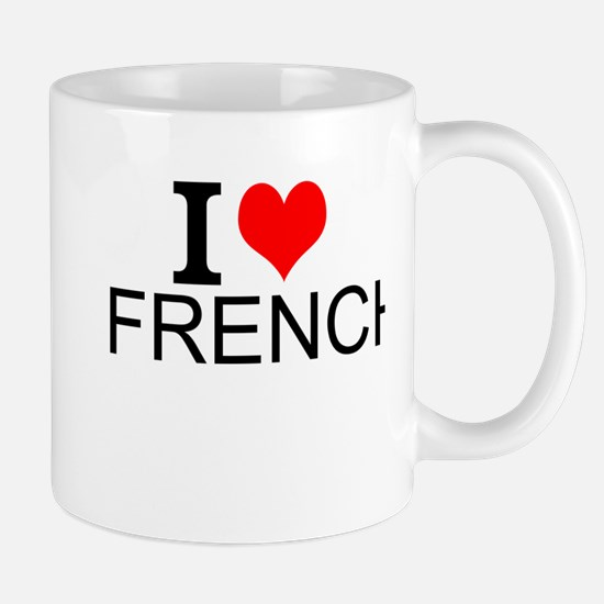 I Love French Mugs