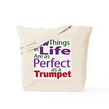 Perfct Trumpet Shirts and Gif Tote Bag