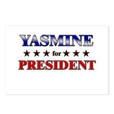 YASMINE for president Postcards (Package of 8)