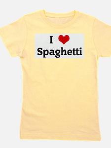 Cute Spaghetti Girl's Tee