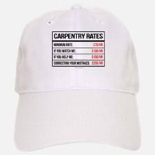 Carpentry Rates Baseball Baseball Cap