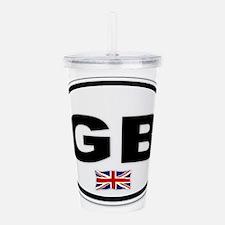 GB Plate Acrylic Double-wall Tumbler