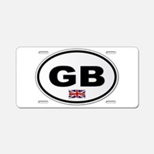 GB Plate Aluminum License Plate