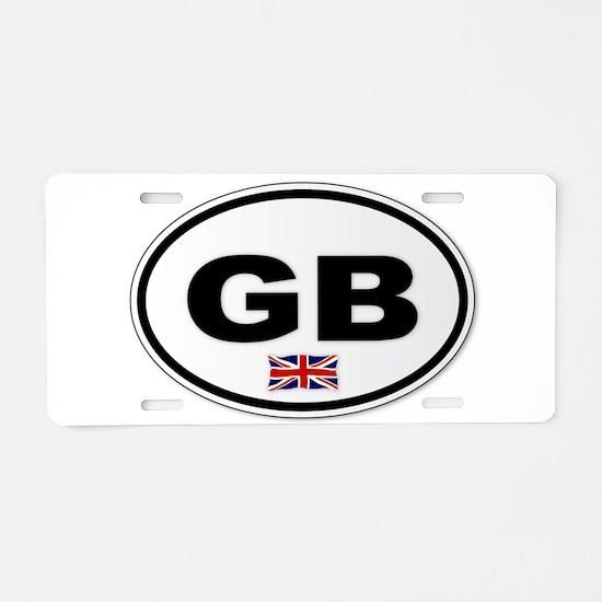 GB Plate Aluminum License Plate