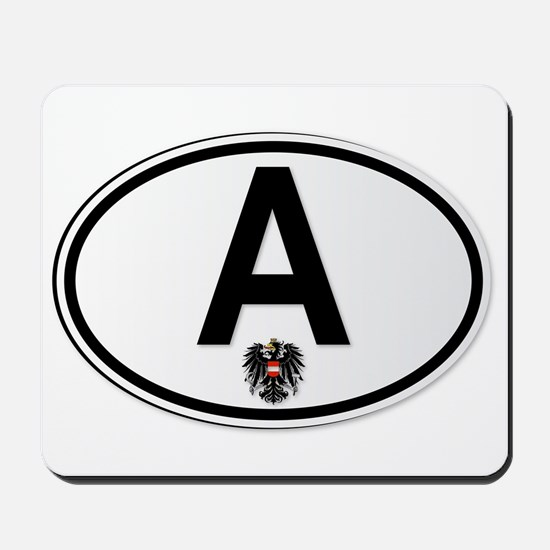 Austrian A Plate Mousepad