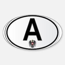 Austrian A Plate Decal