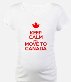 Keep Calm and Move to Canada Shirt