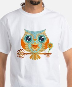 Owls Summer Love Letters T-Shirt