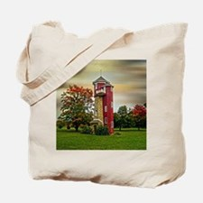 Autumn Water Tower Tote Bag