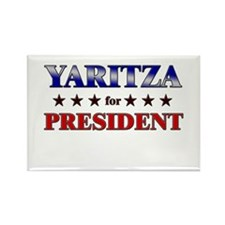 YARITZA for president Rectangle Magnet