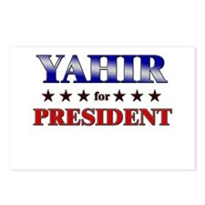 YAHIR for president Postcards (Package of 8)