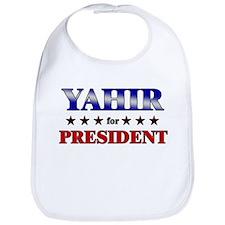 YAHIR for president Bib