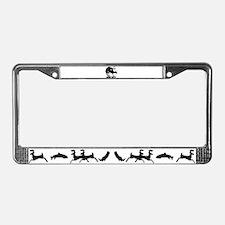 Mule Deer Hump Day License Plate Frame