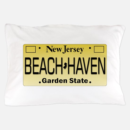 Beach Haven NJ Tag Giftware Pillow Case