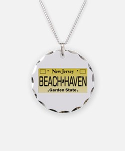 Beach Haven NJ Tag Giftware Necklace