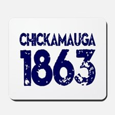 1863 Chickamauga Mousepad