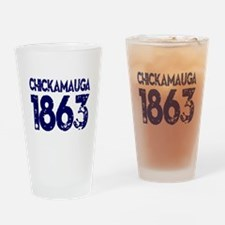 1863 Chickamauga Drinking Glass
