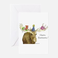 Birthday Moose s Greeting Cards