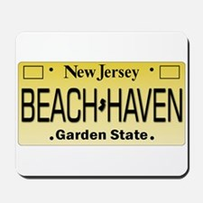 Beach Haven NJ Tag Giftware Mousepad