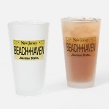 Beach Haven NJ Tag Giftware Drinking Glass