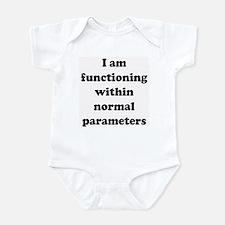 Normal Parameters Infant Bodysuit