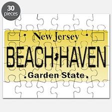 Beach Haven NJ Tag Giftware Puzzle