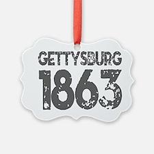 1863 - Gettysburg Ornament