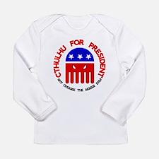 Cthulhu For President Long Sleeve T-Shirt