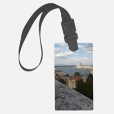 Cute Castle in the clouds Luggage Tag