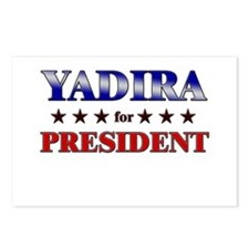 YADIRA for president Postcards (Package of 8)