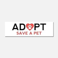 Adopt Save A Pet Car Magnet 10 x 3