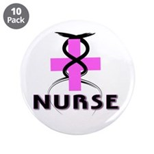 """Nurse """"In Pink"""" 3.5"""" Button (10 pack)"""