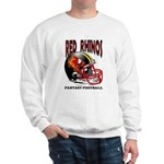 Red Rhinos Fantasy Football Sweatshirt