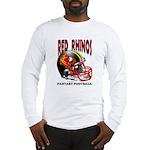 Red Rhinos Fantasy Football Long Sleeve T-Shirt