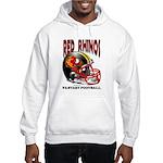 Red Rhinos Fantasy Football Hooded Sweatshirt