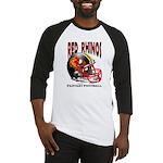 Red Rhinos Fantasy Football Baseball Jersey