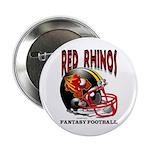 Red Rhinos Fantasy Football Button