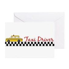 Taxi Driver Greeting Cards (Pk of 20)