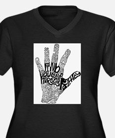 FindHand.jpg Plus Size T-Shirt