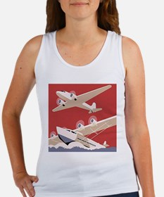 Vintage Sea and Air Women's Tank Top